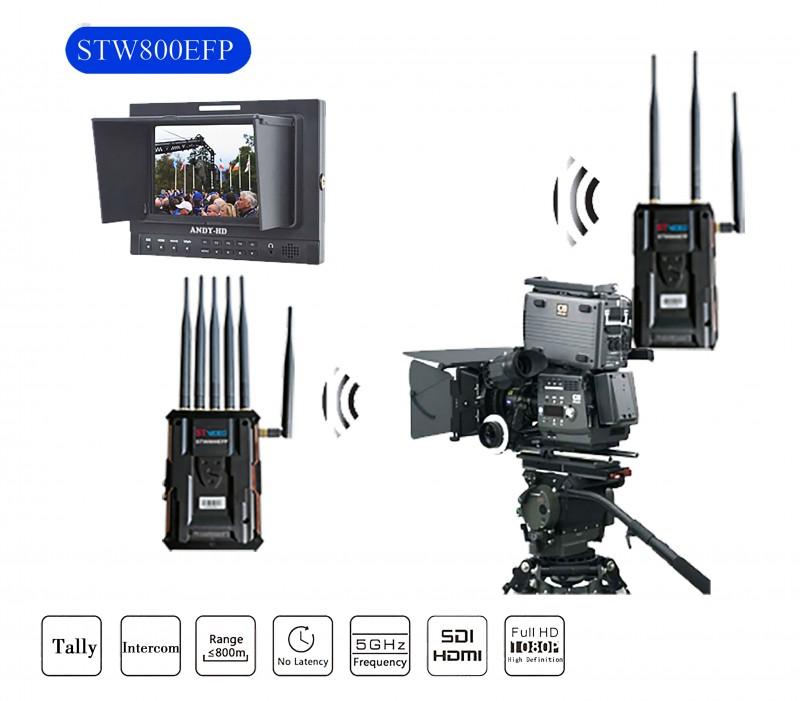 ST Video高清无线视频传输 1080P带TALLY/对讲 STW800EFP