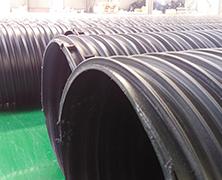 苏易通HDPE塑钢缠绕管DN700江苏徐州新沂大口径PE排水管