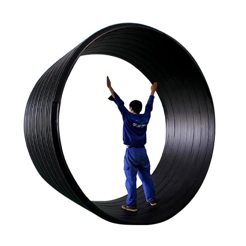 聚乙烯(HDPE)塑钢缠绕排水管 华瀚管道 管业先锋