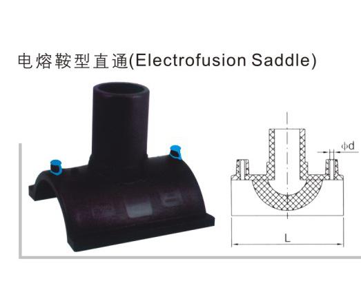 电熔鞍型直通 聚乙烯(PE)给水管件 华瀚管道 管业先锋
