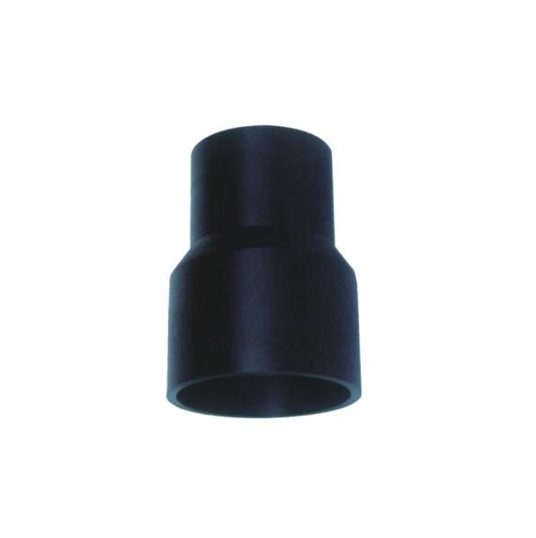 注塑异径直通 聚乙烯PE给水管热熔对接管件系列 华瀚管道 管业先锋