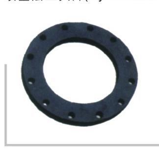 喷塑法兰头片 聚乙烯PE给水管 热熔对接管件系列 华瀚管道 管业先锋