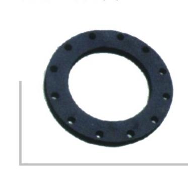 喷塑法兰头片PN1.6  聚乙烯PE给水管 热熔对接管件系列 华瀚管道 管业先锋