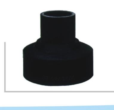 焊制变径 聚乙烯PE给水管 热熔对接管件系列 华瀚管道 管业先锋