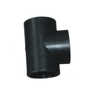 正三通 PE承插式给水用管件 dn20-dn110 华瀚管道 管业先锋