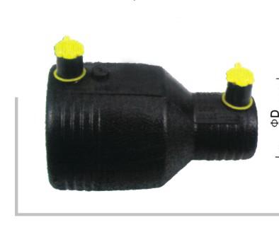 电熔异径套管 φ25-160 华瀚PE燃气管电熔管件系列