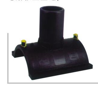 电熔鞍型直通 φ90-250 华瀚PE燃气管电熔管件系列