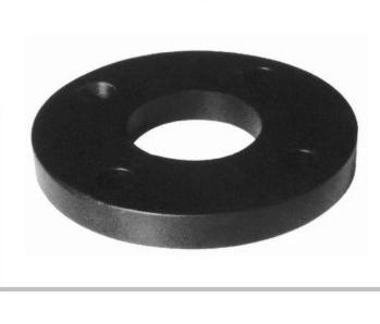 喷塑法兰头片 dn40-dn630 华瀚PE聚乙烯燃气管热熔对接管件系列(注塑)