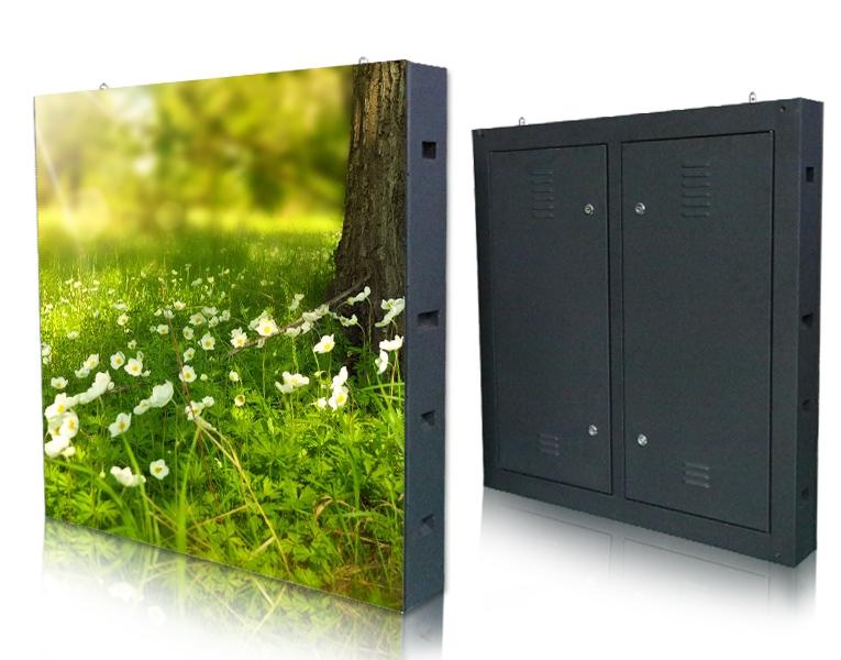 室外屏 单元板户外全彩屏(P6)960*960 箱体(箱体 防水胶圈和电源)