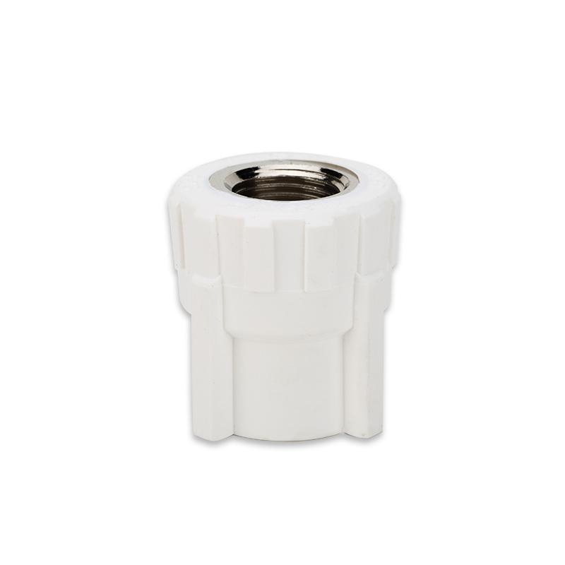 世丰 家装白 PPR管 白色管件 内丝直通 白色