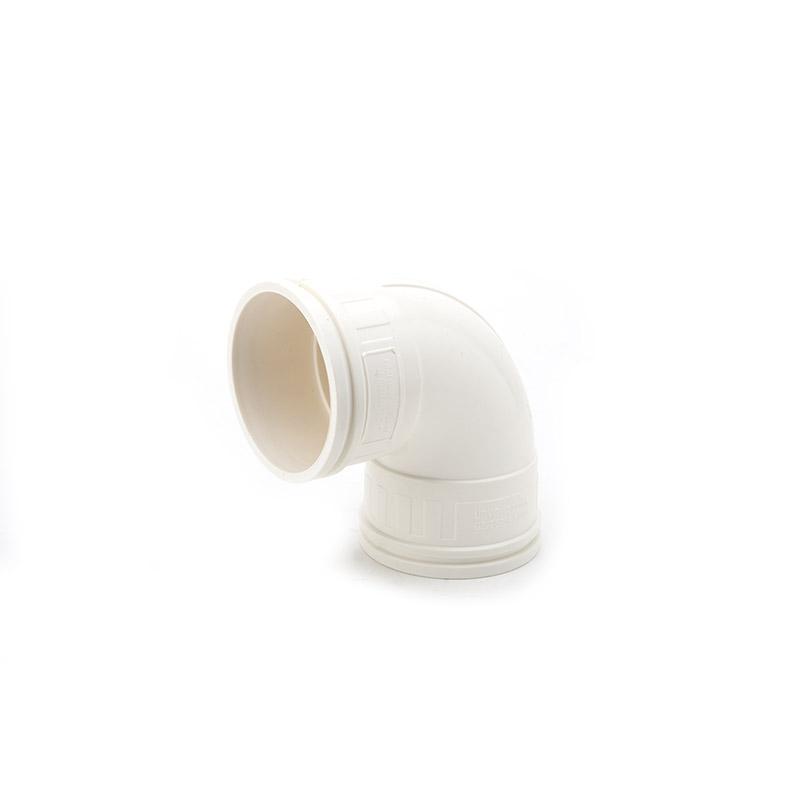世丰 PVC 坚壁管 90°弯头 白色