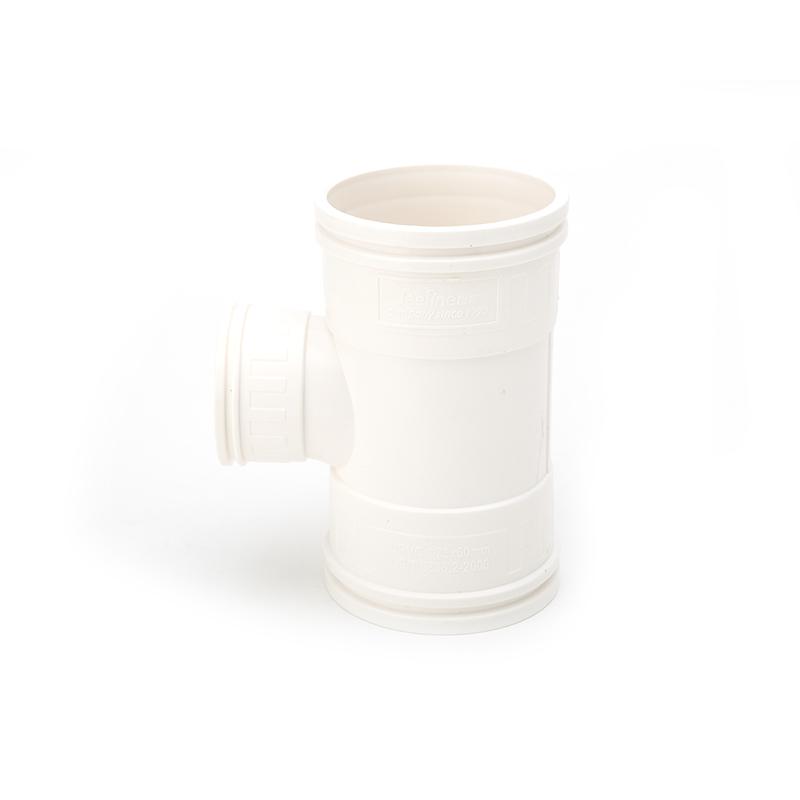 世丰 PVC管 白色管件 坚壁异径顺水三通 白色