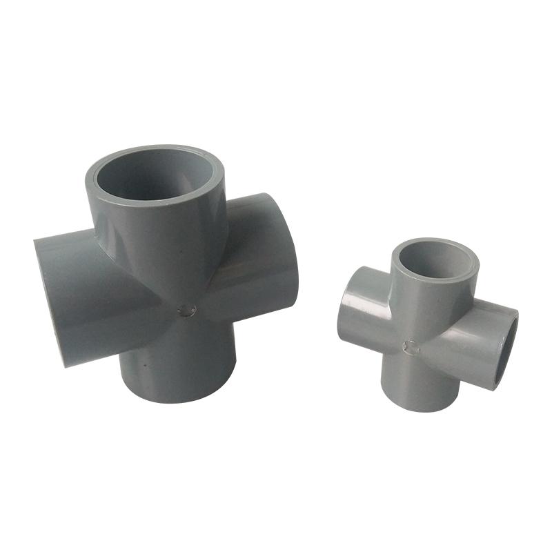 台塑集团南亚塑料UPVC给水管件等径四通50mm DN40四通 75 110