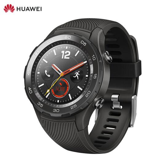 华为(HUAWEI) WATCH 2 4G-插卡版 硅胶运动表带