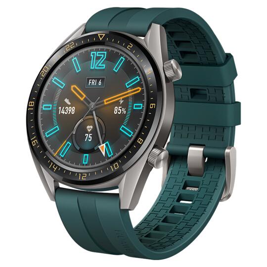 华为(HUAWEI) WATCH GT 活力款 墨绿色华为手表