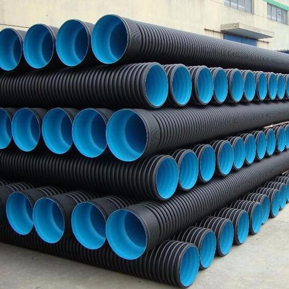 HDPE双壁波纹管 高密度聚乙烯双壁波纹管 含配套密封圈 一批