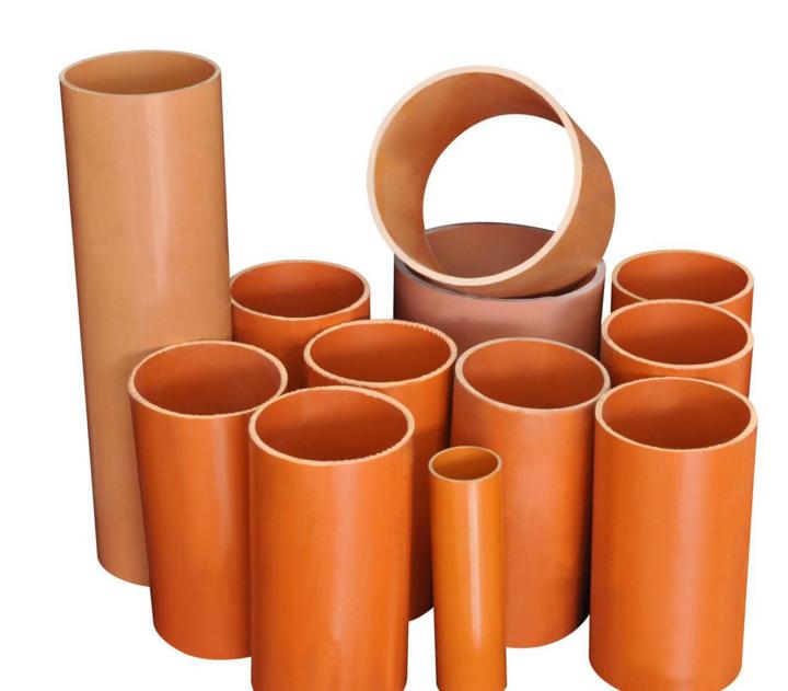 产地货源 cpvc电力管材 高压电力电缆管 橘红色耐高温cpvc 电力管