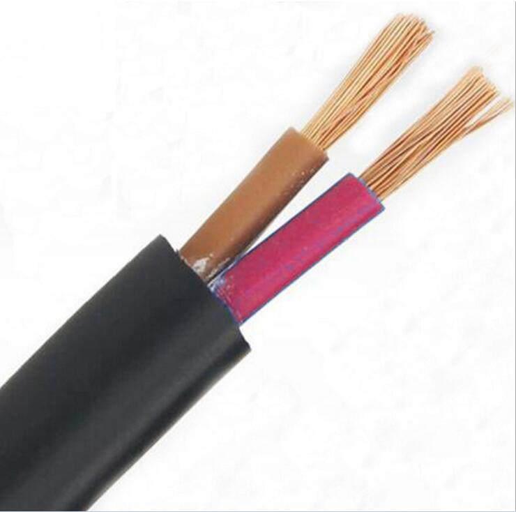 护套电源线缆 软护套线 铜芯聚氯乙烯绝缘聚氯乙烯护套软电缆 200米/卷