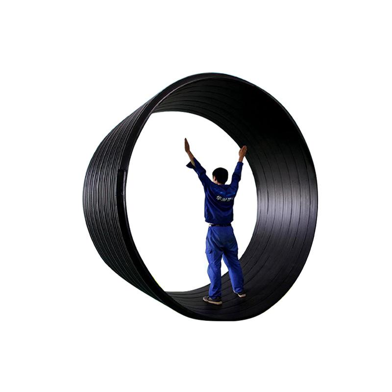 华瀚科技 聚乙烯塑钢缠绕管 排水管 排污管 雨水管 通风管 灌溉管 送风管
