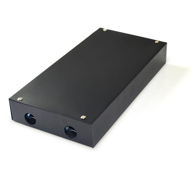 光纤熔接盒 光纤终端盒 椭圆口尾纤盒 熔接盒 8口 48口 72口