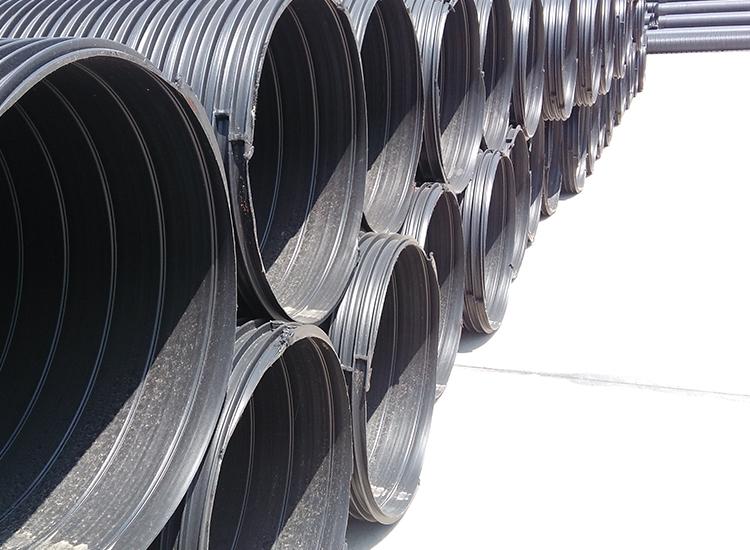 乐洁苏易通hdpe聚乙烯塑钢缠绕排水管 DN900 江苏徐州新沂厂家直销
